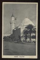 LIBIA - LIBYA - HOMS - 1939 - MOSCHEA - Libya
