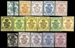 SP. ANTILLES, Police Taxes, (*)/* MNG/MLH, F/VF - Cuba