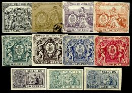 SP. ANTILLES, Revenues, */** MLH/MNH, F/VF - Cuba