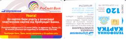 Phonecard  Ukraine  Zaporozhye 120 Units Number:00788852760 - Russia