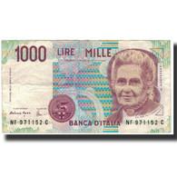 Billet, Italie, 1000 Lire, 1996-11-26, KM:114c, TTB - [ 2] 1946-… : Républic