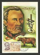 MONACO - Carte Maximum Louis PASTEUR / 1972 - Louis Pasteur