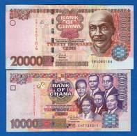 Ghana  2  Billets - Ghana