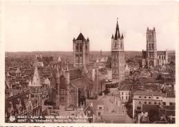 CPM - GENT - St. Nicolaaskerk, Belfort En St. Baafskerk - Gent