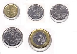 Singapore - Sent Of 5 Coins 2013 - UNC - Singapur