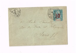 Entier De Saïgon à Paris. - Indochina (1889-1945)