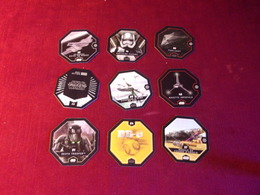 STAR WARS   9 STICKERS    DEFI  FICTION - Merchandising