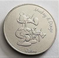 Disneyland Monnaie De Paris 75.Hôtel De La Monnaie Disney 4 Mickey Et Dingo 2016 Neuf - 2016