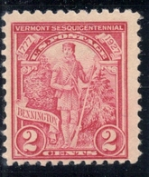 U.S.A. #643 Year 1927, 2 Cents / Mint Never Hinged - United States
