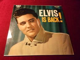 ELVIS  PRESLEY    °°   IS BACK  33 TOURS 12 TITRES - Vinyl Records