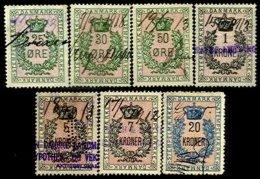 DENMARK, Documentaries, Used, F/VF - Revenue Stamps