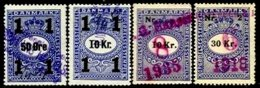 DENMARK, Cosmetics Tax, Used, F/VF - Fiscali