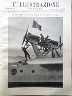 L'illustrazione Italiana 21 Dicembre 1930 Crociera Atlantica Balbo Natale Arte - Libri, Riviste, Fumetti