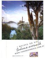 (200) Australia - TAS - Tahuna Air Walk (with Stamp At Back Of Card) - Wilderness