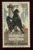 Italy Trieste. 1954 25l  Eagle Issue  #200 - 7. Trieste