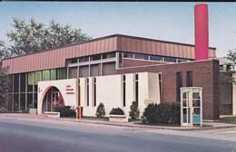 CANADA--RARE---LOUISEVILLE--caisse Populaire De Louiseville--( Un Immeuble Futuriste )--voir 2 Scans - Quebec