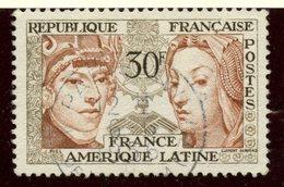 France 1956 30f  Latin America Issue  #795 - France