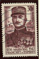 France 1956 30f  Marshal D'Esperey Issue  #799 - France