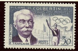 France 1960 30f  Coubertin Issue  #817 - France