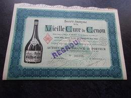 VIEILLE CURE DE CENON (jouissance) GIRONDE - Shareholdings