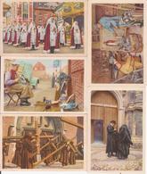 82 Images Chromos Folklore Belge Côte D'or (quelques Exemples- Et Voir 5 Ou 6 Doubles) - Old Paper