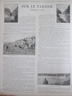 Guerre 14-18 En Macédoine Serbe Vallée Du Vardar Guerre Des Balkans - Old Paper