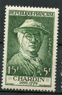 France 1956 15 + 5f  Chardin Issue  #B306 - France