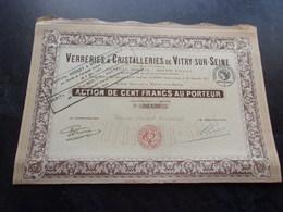 VERRERIES & CRISTALLERIES DE VITRY SUR SEINE - Shareholdings