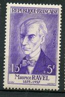 France 1956 15 + 5f  Ravel Issue  #B308 - France