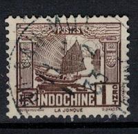 INDOCHINE          N°  YVERT    155        ( 2 )     OBLITERE       ( O   3/09 ) - Indochina (1889-1945)