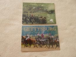 2 CARTES BATAILLE DE GETTYSBURG... - Histoire