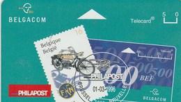 TELECARD     BELGACOM   PHILAPOST...DOS VIERGE - Belgium