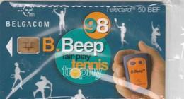 TELECARD 50 BEF     BELGACOM   ..  B.BEEP  98   TENNIS - Belgium