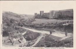 MAROC---FEZ--remparts De La Ville à La Casbah Filala Et Chemin Conduisant Aux Merinides--voir 2 Scans - Fez (Fès)