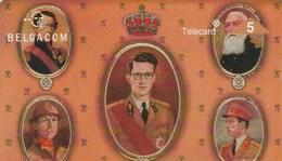 TELECARD 5     BELGACOM   .    DOS VIERGE - Belgium