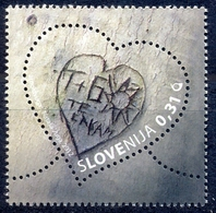 SI 2012-945 LOVE, SLOVENIA, 1 X 1v, MNH - Slowenien