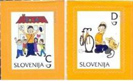 SI 2012-950-1 DEFINITIVE, SLOVENIA, 1 X 2v, MNH - Slovénie