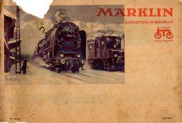Catalogue Märklin 1934 Bahn Spur 00 0, Automobile, Auto-Bahn, Dampfmaschinen - En Italien - Books And Magazines