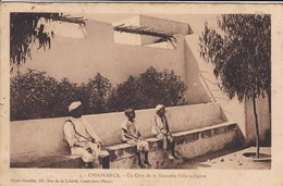 MAROC---CASABLANCA--un Coin De La Nouvelle Ville Indigène-- Voir 2 Scans - Casablanca