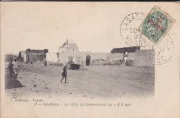 MAROC---CASABLANCA--les Effets Du Bombardement Du 7 & 8 Août-- Voir 2 Scans - Casablanca