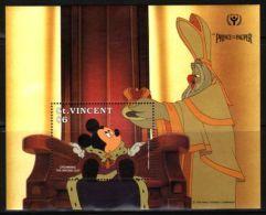 St.Vincent - 1991 Prince And The Pauper Block (1) MNH__(THB-1066) - St.Vincent (1979-...)
