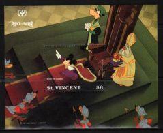 St.Vincent - 1991 Prince And The Pauper Block (3) MNH__(THB-1061) - St.Vincent (1979-...)