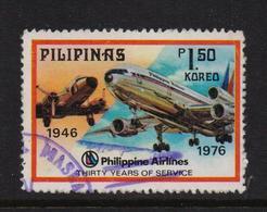 Philippines 1976, Airplane, Minr 1158, Vfu - Philippines