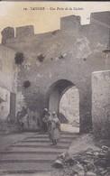 MAROC---TANGER---une Porte De La Casbah--( état Moyen Taches )- Voir 2 Scans - Tanger