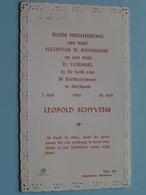 Leopold SCHYVENS Op 7 / 12 Mei 1961 Te St. Bartholomeuskerk MERKSEM ( Zie/voir Photo ) ! - Communion