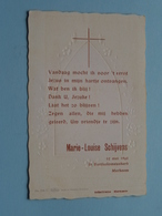 Marie-Louise SCHIJVENS Op 12 Mei 1962 Te St. Bartholomeuskerk MERKSEM ( Zie/voir Photo ) ! - Communion