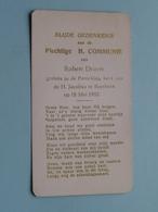 Robert DRUYTS Op 18 Mei 1952 Te Parochie Kerk Van H. Jacobus Te BORSBEEK ( Zie/voir Photo ) ! - Communion