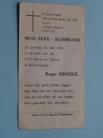 Roger BROCKX Op 26 Mei 1946 In De Kerk Van H.H. Petrus En Paulus Te WOMMELGEM ( Zie/voir Photo ) ! - Communion