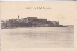 MAROC---RARE---RABAT--vue Du Fort Des Oudaïas--voir 2 Scans - Rabat