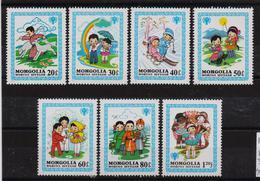 Mongolia 1980, Complete Set, MNH - Mongolia